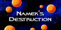 Namek's Destruction