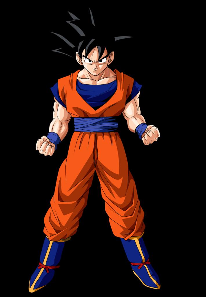 Dragon Ball z Goku Normal Goku en Dragon Ball z