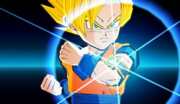 DB Fusions Super Saiyan Goku Metamo-Ring (EX-Fusion)