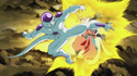Frieza attacks beat4