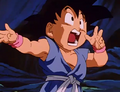 Kid goku geting tired3