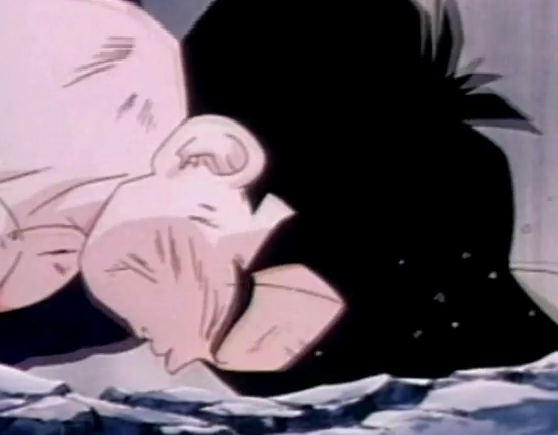 File:Gohan fells to ground dead and defeated after being killed by turles in plan to eadacte the saiyans4.png