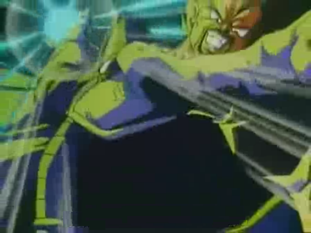 King Vegeta Bills King Vegeta Charges an Energy