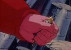 Hatchyyack grabing goku