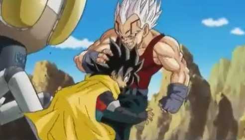 File:Baby vegeta kneed hero in the stomach.png