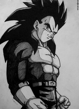 File:Vegeta SSj4 Drawn by .jpg