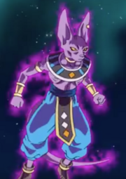 Angered Beerus full power