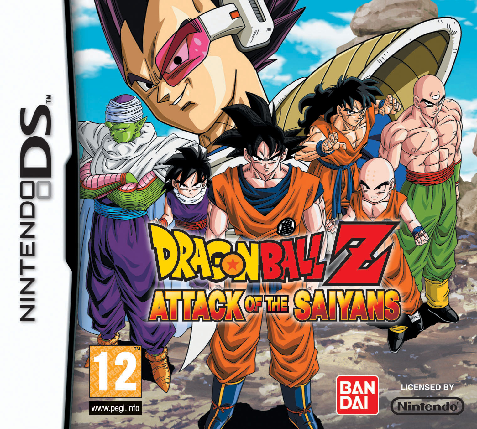 Dragon Ball Z: Attack of the Saiyans | Dragon Ball Wiki ...