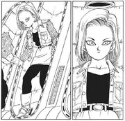 Android 18 awakened