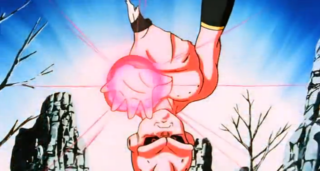 File:End of Earth - Kid Buu kills NorthSupKai.png