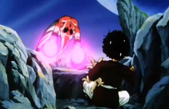 File:Vegeta's Respect - Kid Buu attacks Mr. Satan.PNG