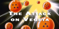 The Attack on Vegeta