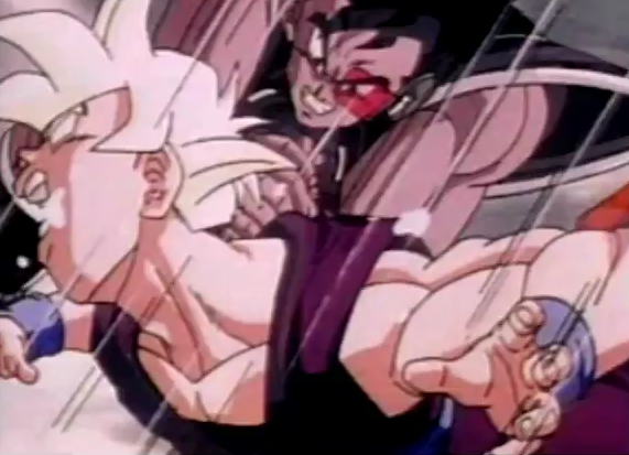 File:Turles attacks gohan in plan to eadacte the saiyans.png