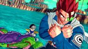 Future Warrior with Piccolo and Gohan