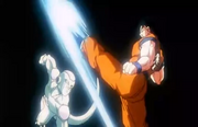 The Ultimate Battle - Frieza Goku faceoff