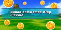 Gohan and Demon King Piccolo