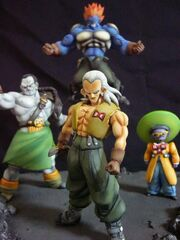 Android 13 14 15 statue set a