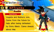 KF Future Trunks Super (Bardock)