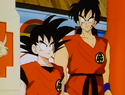 Goku and Yamucha
