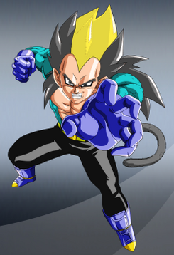 Super Saiyan 9 Vegeta