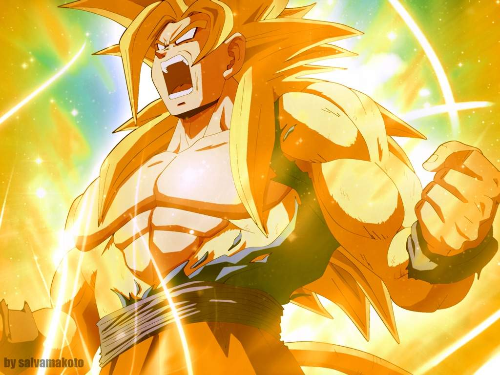 Golden super saiyan 4 dragon ball af fanon wiki fandom powered by wikia - Sangoku super sayen 6 ...