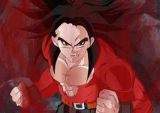 Super Saiyan 4 Trunks by darkhawk5