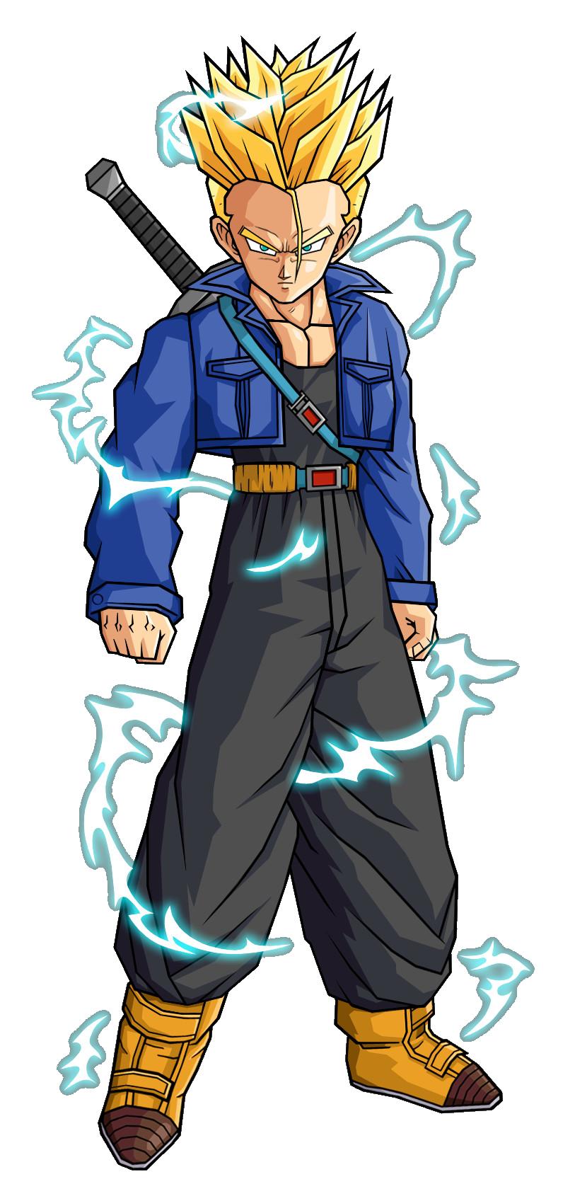 Trunks del Futuro (DBSB) | Dragon Ball Fanon Wiki | FANDOM ...