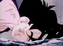Gohan fell to ground dead after being killed by turles 2