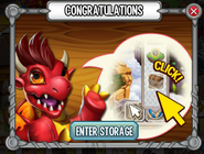 Dragon Cards Congratulations