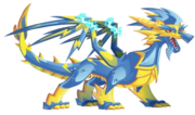 Lightning Dragon 3d