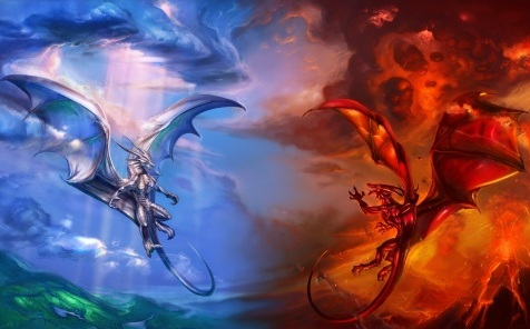 Image Ice Dragon Vs Fire Dragon T2 Jpg Dragon City