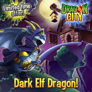 Dark elfie