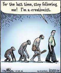 Creationist Takes a Walk