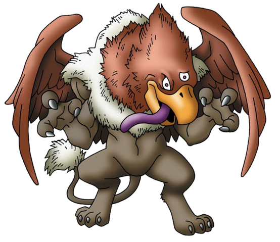 File:DQVIII - Gryphon.png