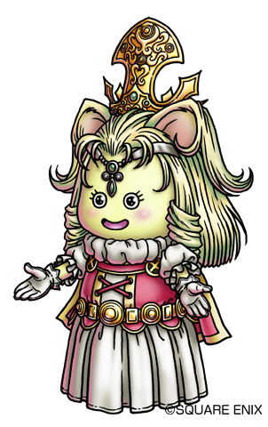 File:DQX - Queen Aruu~e.png