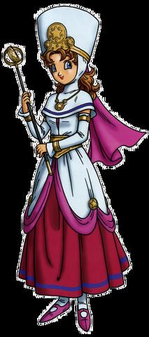 File:DQVIII - Princess Minnie.png