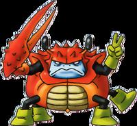 DQVII3DS - Smashin' crab