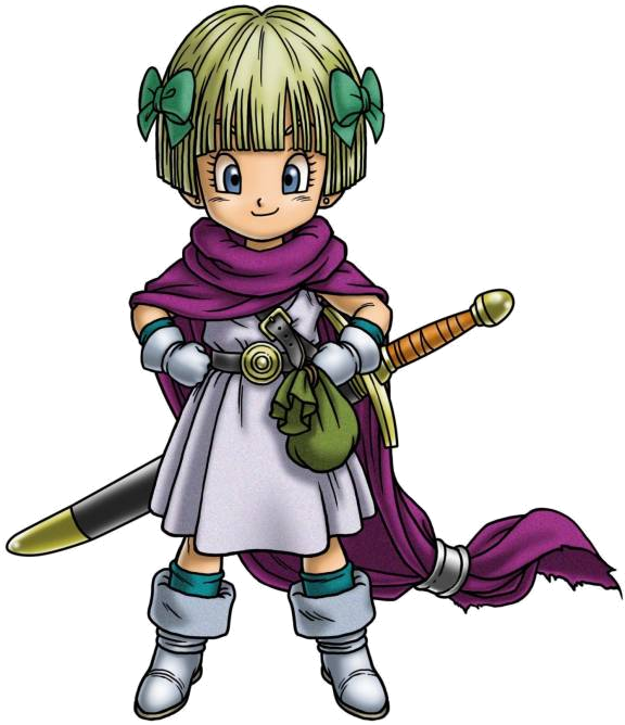 Dragon Quest Wikipedia: Hero's Daughter (Dragon Quest V)