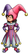 DQVII3DS - Hero - Jester