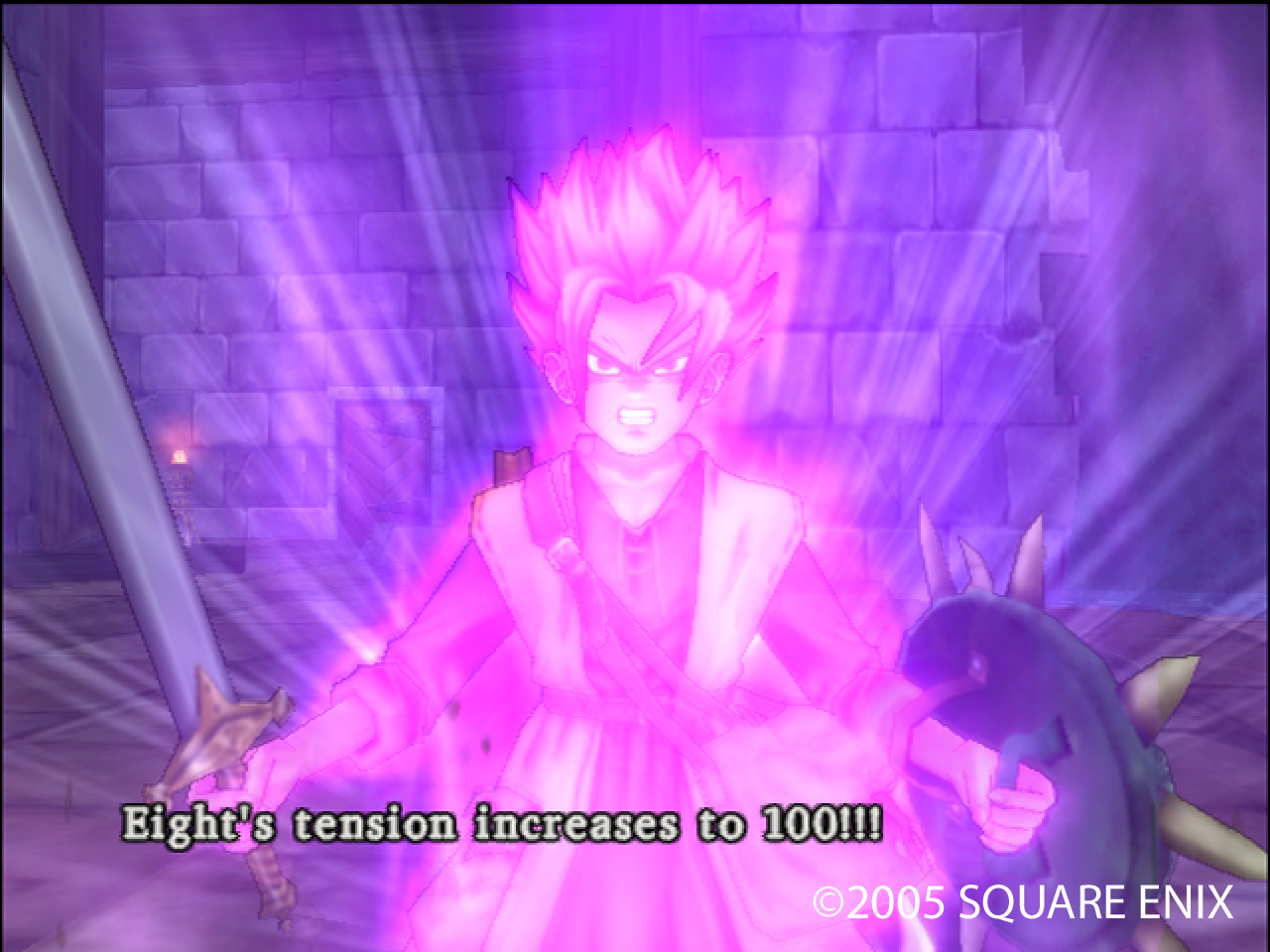 When DQ8 realized that it might lose this fight.