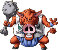 DQVII3DS - Hell hog