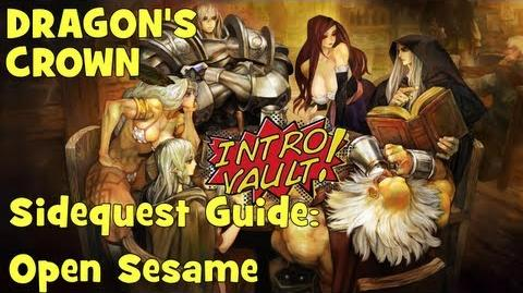 Dragons Crown - Sidequest Guide Open Sesame