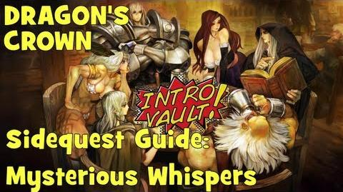 Dragons Crown - Sidequest Guide Mysterious Whispers