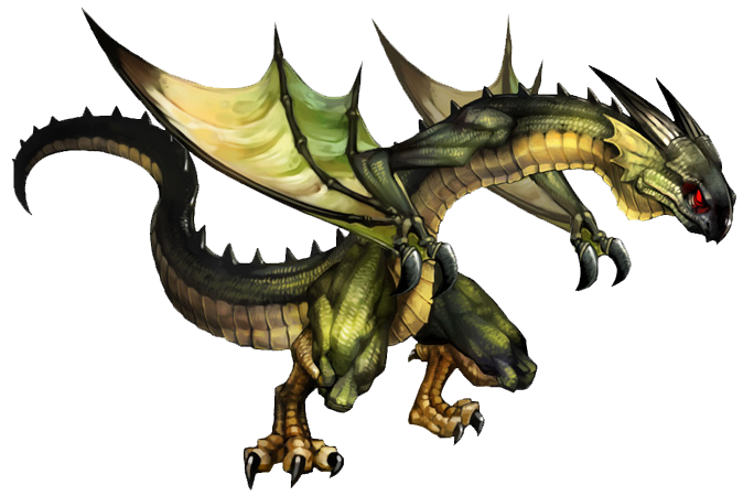 Image dragon 39 s crown wiki fandom powered for Green monster fishing light
