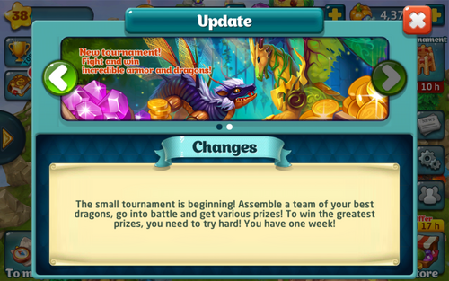 Tournament 145 Update