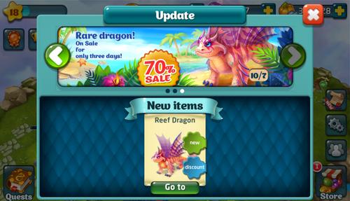 Reef Dragon Update