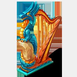 Magical HarpDecor