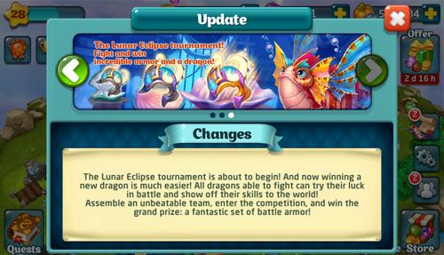 Tournament LXXVI Update