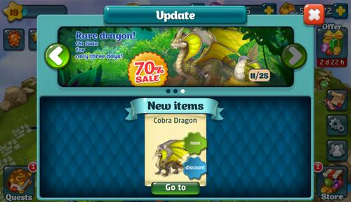 Cobra Dragon Update