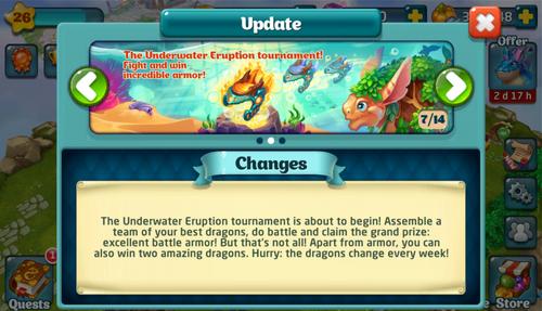 Tournament LXVII Update